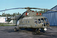 Helicopter-DataBase Photo ID:18042 Mi-8T (upgrade by Finland 1) Finnish Air Force HS-2 cn:13302