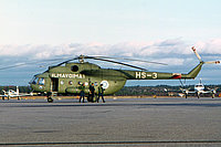 Helicopter-DataBase Photo ID:5385 Mi-8T (upgrade by Finland 1) Finnish Air Force HS-3 cn:13303