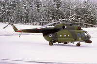 Helicopter-DataBase Photo ID:5387 Mi-8T (upgrade by Finland 2) Finnish Air Force HS-3 cn:13303