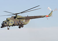 Helicopter-DataBase Photo ID:2787 Mi-8PS (upgrade by Finland) Finnish Army Air Arm HS-5 cn:13305