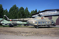 Helicopter-DataBase Photo ID:15509 Mi-8PS (upgrade by Finland) Finnish Museum Vesivehmaa HS-6 cn:13306