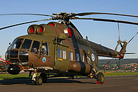 Helicopter-DataBase Photo ID:2789 Mi-8PS (upgrade by Finland) Finnish Army Air Arm HS-6 cn:13306