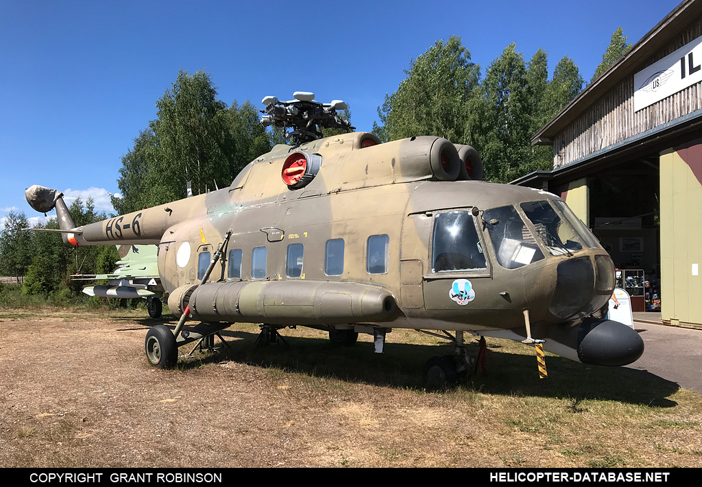 Mi-8PS (upgrade by Finland)   HS-6