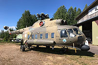 Helicopter-DataBase Photo ID:15510 Mi-8PS (upgrade by Finland) Finnish Museum Vesivehmaa HS-6 cn:13306