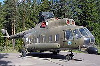Helicopter-DataBase Photo ID:6247 Mi-8PS (upgrade by Finland) Finnish Aviation Museum HS-6 cn:13306