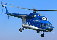 Helicopter-DataBase Photo ID:1231 Mi-8T TECH-MONT OM-TMT cn:98308361
