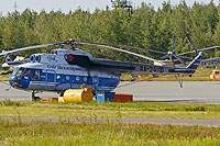 Helicopter-DataBase Photo ID:13101 Mi-8PS Nizhnevartovsk Air Enterprise RA-24110 cn:98839555