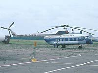 Helicopter-DataBase Photo ID:370 Mi-8PS VERTIKAL-T Air Transport Company RA-24637 cn:8607
