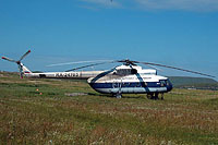 Helicopter-DataBase Photo ID:13129 Mi-8T Kamchatka Airlines RA-24703 cn:98103340