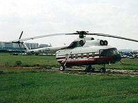 Helicopter-DataBase Photo ID:531 Mi-8PS unknown RA-27025 cn:8730