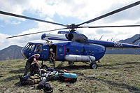 Helicopter-DataBase Photo ID:14543 Mi-8T Komsomolsk-on-Amur Aircraft Production Association 22154 cn:99357401