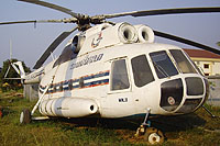 Helicopter-DataBase Photo ID:8901 Mi-8T Lao People's Democratic Republic Air Force RDPL-34040
