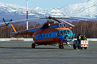 Helicopter-DataBase Photo ID:13027 Mi-8T Special Aviation Department of the Ministry of Interior RF-28966 cn:98734399