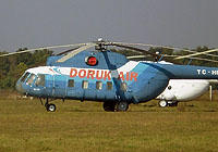 Helicopter-DataBase Photo ID:5183 Mi-8PS DORUK AIR TC-HDA cn:8561