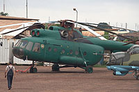 Helicopter-DataBase Photo ID:12823 Mi-8T Central African Air Force TL-KFB