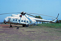 Helicopter-DataBase Photo ID:13175 Mi-8PS Central African Air Force 36701