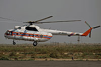 Helicopter-DataBase Photo ID:16198 Mi-8TV Kazaviaspas of the EMERCOM of the Kazakh Republic UP-MI820 cn:9775319