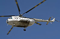 Helicopter-DataBase Photo ID:4522 Mi-8T unknown UP-MI840