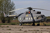 Helicopter-DataBase Photo ID:14268 Mi-8PS Ukrainian Air Force 03 yellow cn:4267
