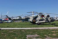 Helicopter-DataBase Photo ID:14733 Mi-8T State Aviation Museum 04 yellow cn:6966