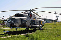 Helicopter-DataBase Photo ID:14734 Mi-8T State Aviation Museum 04 yellow cn:6966
