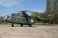 Helicopter-DataBase Photo ID:16633 Mi-8T Ukrainian Air Force 09 yellow