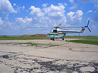 Helicopter-DataBase Photo ID:866 Mi-8IV Ukrainian Border Guard 10 blue
