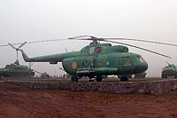 Helicopter-DataBase Photo ID:13936 Mi-8T Historical Museum of Yuzhnoukrainsk 46 red
