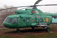 Helicopter-DataBase Photo ID:13938 Mi-8T Historical Museum of Yuzhnoukrainsk 46 red