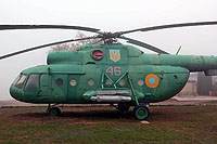 Helicopter-DataBase Photo ID:13939 Mi-8T Historical Museum of Yuzhnoukrainsk 46 red