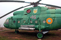 Helicopter-DataBase Photo ID:13940 Mi-8T Historical Museum of Yuzhnoukrainsk 46 red