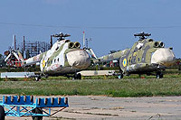 Helicopter-DataBase Photo ID:9643 Mi-8T Ukrainian Air Force 85 yellow