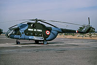 Helicopter-DataBase Photo ID:15278 Mi-8T Indian Air Force Z2451