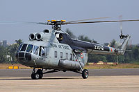 Helicopter-DataBase Photo ID:17076 Mi-8PS Indian Air Force Z3042