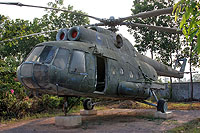 Helicopter-DataBase Photo ID:6454 Mi-8T War Museum Siem Reap XU-814 cn:22903