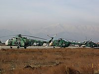 Helicopter-DataBase Photo ID:278 Mi-8T Afghan Air Force 607
