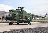 Helicopter-DataBase Photo ID:5669 Mi-8T Afghan Air Force 607