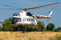 Helicopter-DataBase Photo ID:9812 Mi-8T (upgrade by ASU Baltija) United Nations YL-HMT cn:8235