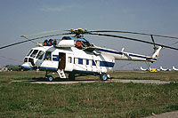 Helicopter-DataBase Photo ID:10738 Mi-8PS Romanian Air Force 08 cn:10734