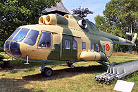 Helicopter-DataBase Photo ID:13640 Mi-8PS National Museum of Romanian Aviation 709 cn:10709