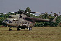 Helicopter-DataBase Photo ID:17294 Mi-8T AF of the Socialist Federal Republic of Yugoslavia 12405 cn:10970