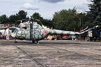 Helicopter-DataBase Photo ID:16312 PZL Mi-2 Museum Jüterborg-Altes Lager 01 red