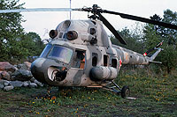 Helicopter-DataBase Photo ID:17639 PZL Mi-2 Privat Hohen-Neuendorf 27 red cn:511134079