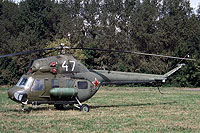 Helicopter-DataBase Photo ID:12302 PZL Mi-2 Soviet Air Force 47 white cn:549304065