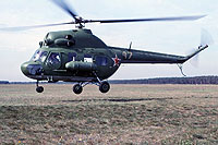 Helicopter-DataBase Photo ID:17650 PZL Mi-2 41st Independent Helicopter Squadron 47 yellow cn:514418095