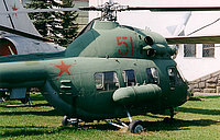Helicopter-DataBase Photo ID:1939 PZL Mi-2 Central museum of Armed Forces 51 red