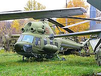 Helicopter-DataBase Photo ID:1940 PZL Mi-2 Central museum of Armed Forces 51 red