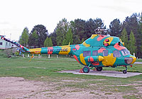 Helicopter-DataBase Photo ID:2598 PZL Mi-2 BelOSTO - Belarusian Defence Sports and Technical Society EW-225CC cn:5411142060