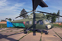 "Helicopter-DataBase Photo ID:13390 PZL Mi-2 Museum ""Stalin Line"" 06 white cn:545635058"