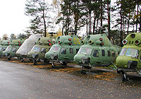 Helicopter-DataBase Photo ID:4191 PZL Mi-2 DOSAAF Belarus 17 yellow cn:547424111